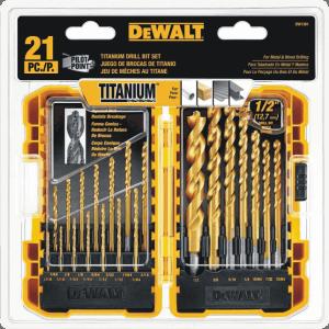 DEWALT-DW1361-21-Pc.-Drill-Bit-Set