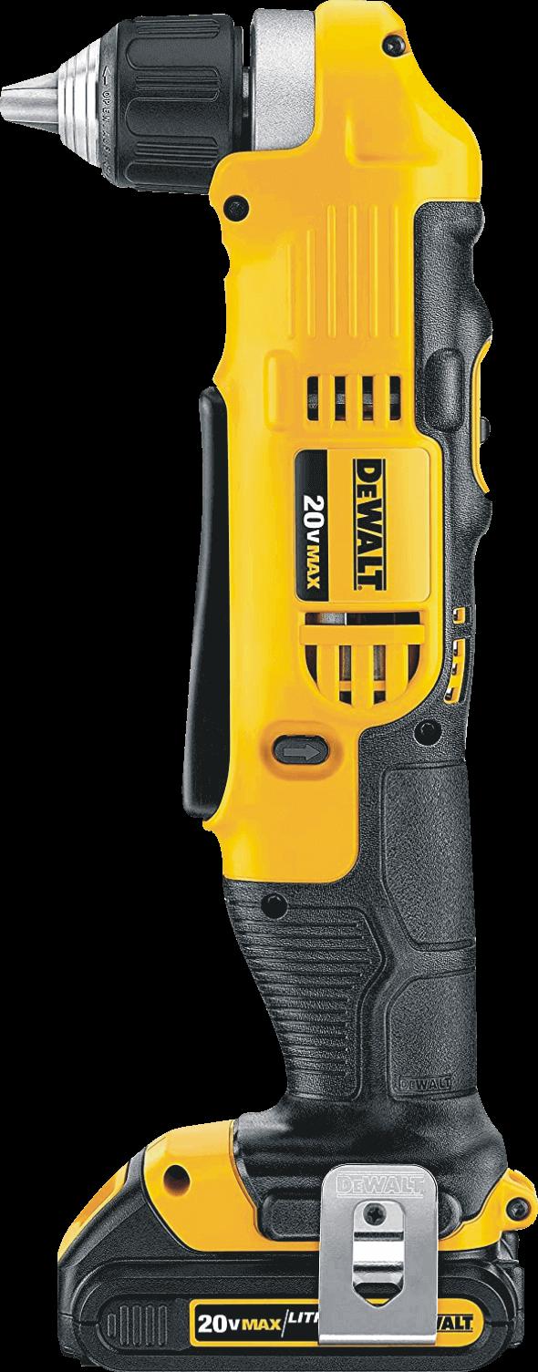 Dewalt (DCD740C1) 20V Right Angle Cordless Drill And Driver Kit