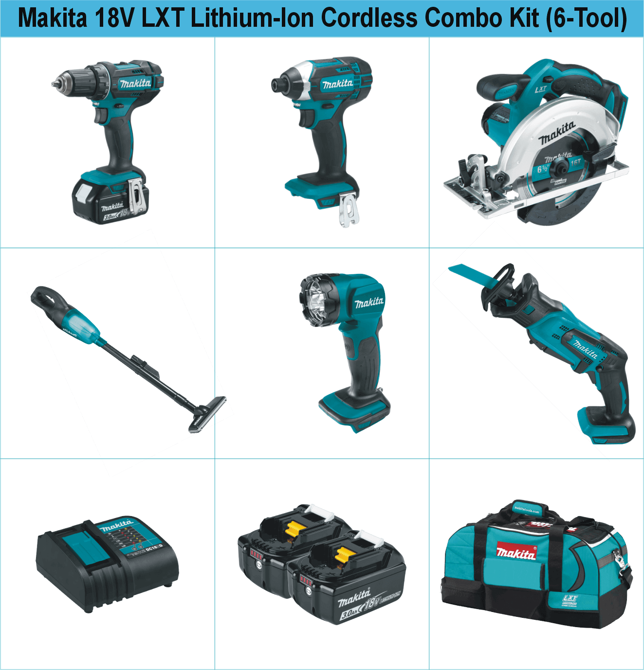 makita-18v-lxt-lithium-ion-cordless-combo-kit-6-tool