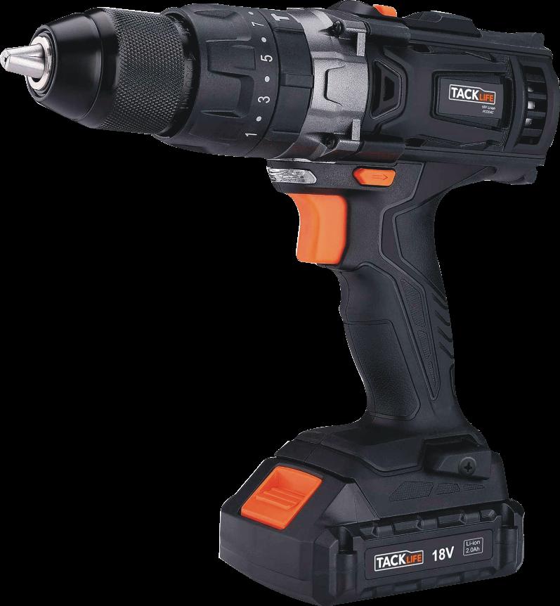 TACKLIFE 20V Cordless Hammer Drill