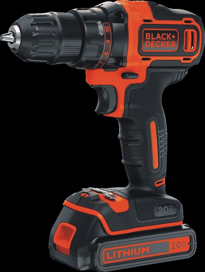 BLACK+DECKER (BDCDD220C) 20V MAX Cordless Drill