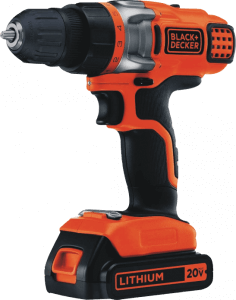 black-decker-ldx220c-20v-max-2-speed-cordless-drill-includes-battery-and-charger