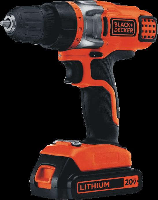 BLACK+DECKER (LDX220C) 20V MAX 2-Speed Cordless Drill