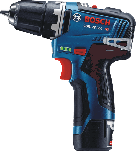 Bosch (GSR12V-300B22) 12V Max EC Brushless 3/8 In. Drill/Driver Kit