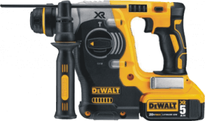 dewalt-dch273p2-20v-sds-rotary-hammer-drill-kit-with-5ah-batteries