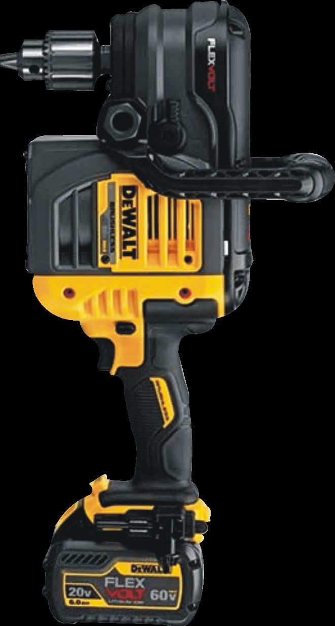 Dewalt Flexvolt (DCD460T2) Max 60V Right Angle 1/2 In. Cordless Drill