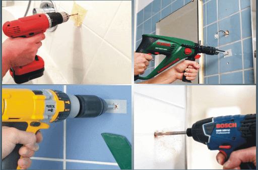 how-to-drill-into-tile
