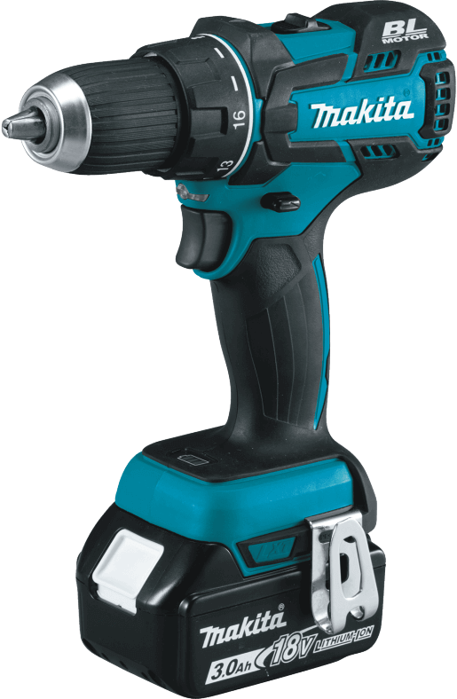 Makita XFD061 18V LXT Lithium-Ion COMPACT Brushless Cordless Driver-Drill Kit