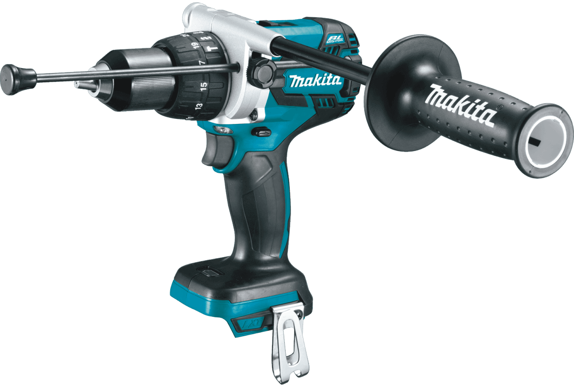 Makita XPH07Z 18V LXT Lithium-Ion Brushless Cordless Hammer Driver-Drill, Tool Only