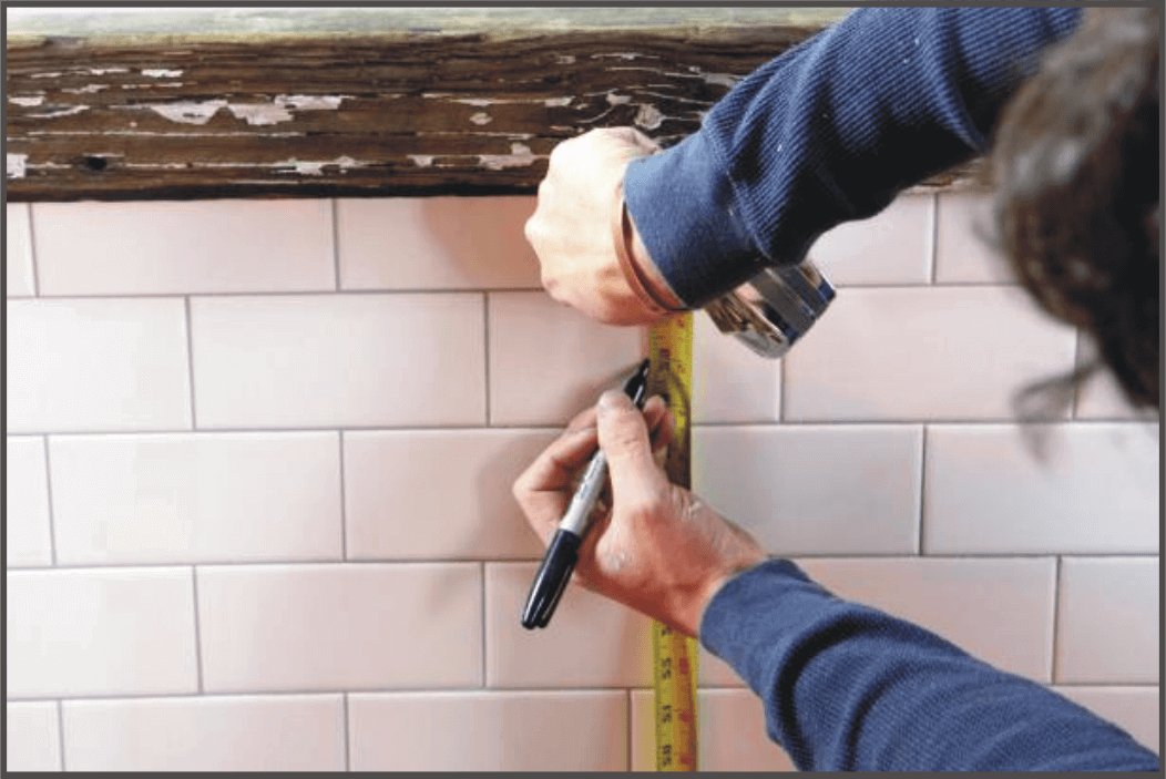 measuring-and-marking-the-tile