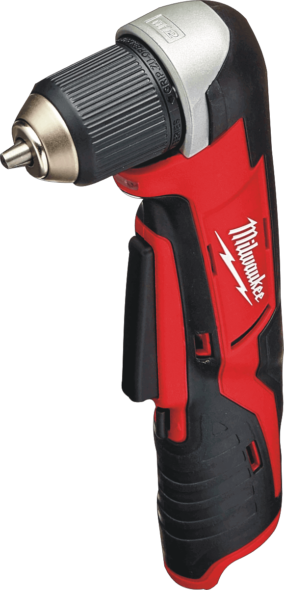 Milwaukee (2415-20 M12) 12V Right Angle 3/4 In. Cordless Drill With Tools