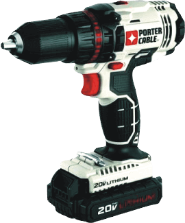 PORTER-CABLE(PCC608LB) 20V MAX Cordless Compact Drill