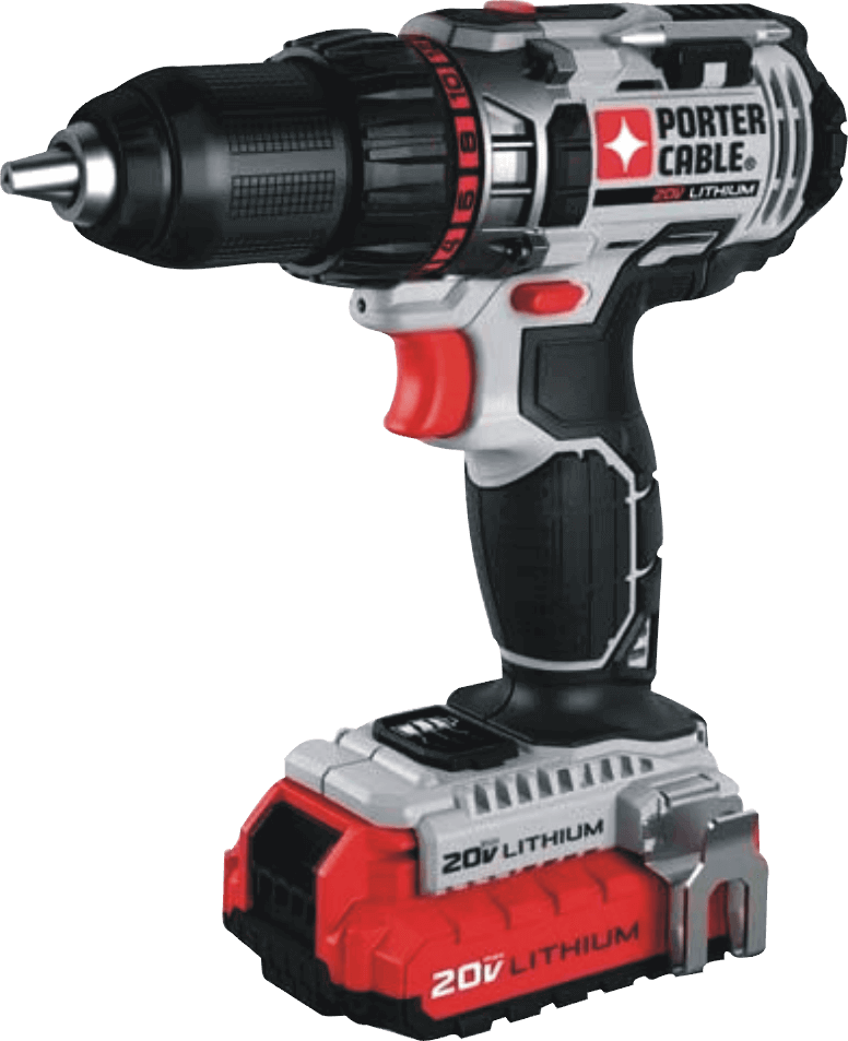 PORTER-CABLE (PCCK600LB) 20V MAX Cordless Drill