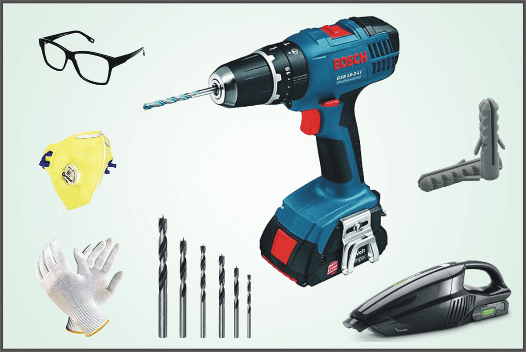 required-tools-for-drilling-into-tile
