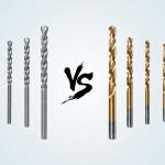 Cobalt Drill Bits vs Titanium
